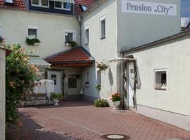 "Pension ""City"", Oschatz"