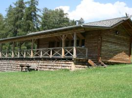 Berghütte Blockhaus, Redagno