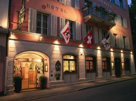 Romantik Hotel Stern, Coira