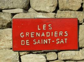 B&B - Les Grenadiers de Saint Sat, Saint-Saturnin-d'Apt