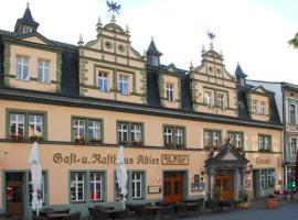 Hotel Adler & Eiscafe Aquila, Rudolstadt