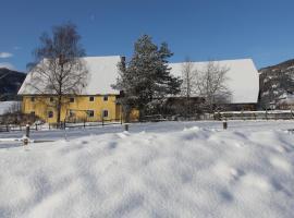 Bio-Bauernhof Apartment Liebchen, Zeutschach