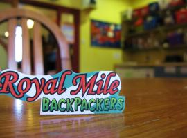 Royal Mile Backpackers, Edimburg