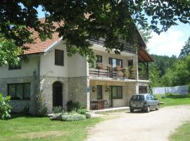 Nature Guest House, Jezerce
