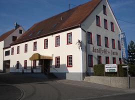 Landhotel zur Kanne, Neresheim