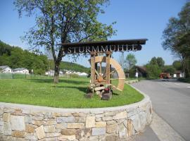 Kulturzentrum Sturmmühle, Saxen