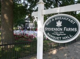 Stevenson Farms-Harvest Spa B & B, 앨리스턴