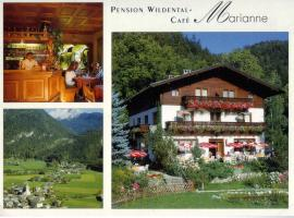 Pension Wildental, Sankt Martin bei Lofer