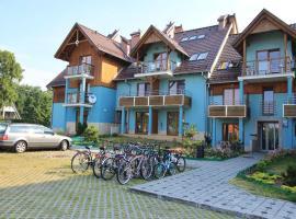 Apartament w Turkusowej Willi, Kąty Rybackie