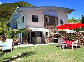 Residence Les Cocotiers, Pihaena