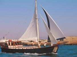Yacht Charter-Traditional Motor Sailer 51FT, Heraklio Town