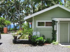 Whale House at Kehena Beach, Pahoa
