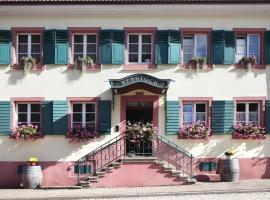 Landgasthof Rebstock, Sulzburg