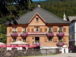 Hotel Gasthof Hirschen, Bezau