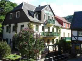 Pension Rauschenstein und Apartments Forsthaus, Bad Schandau
