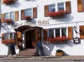 Gasthof Hotel Löwen, באד בוכאו