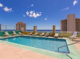 Pacific Monarch Penthouse Suite by Aloha Waikiki Condos, Honolulu