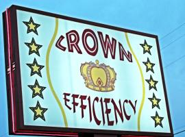 Crown Efficiency Extended Stay, Baton Rouge