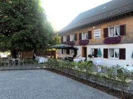Gasthaus Ochsen, Bildstein