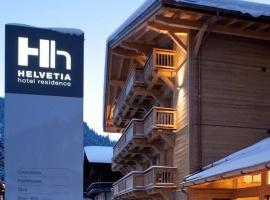 Helvetia hotel, Morgins