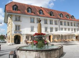 La Couronne, Avenches