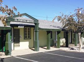 El Portal Motel, Beatty
