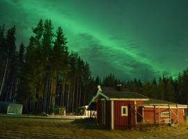 Pike Paradise Lodge, Kusfors