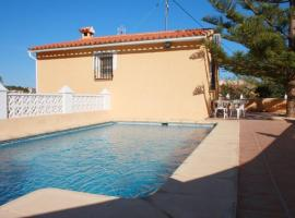 Apartment with pool, barbecue in Alicante, La Canuta