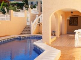Apartment with garden, views in Alicante, La Canuta