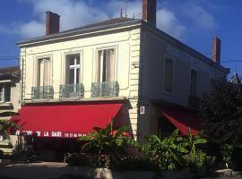 Hotel Café de la Gare, Sainte-Foy-la-Grande