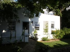 The Cottage on 55, Franschhoek