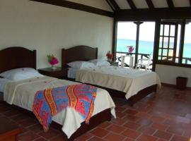 Eco hotel La Cocotera, Isla Grande