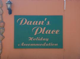 Daan's Place, Graskop