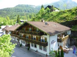 Hotel garni Wimbachklamm, Ramsau