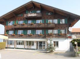 Hotel Seeblick, Krattigen