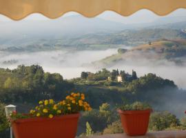La rotonda in collina, San Severino Marche