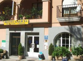 Hotel Galicia, Baños de Montemayor