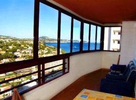 Apartment with pool, beach in Calpe, Casas de Torrat