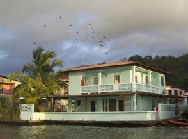 Casa del Rayo Verde, Hotelito Solidario, Portobelo