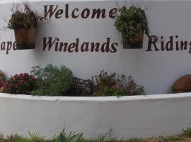 Cape Winelands Riding, Simondium
