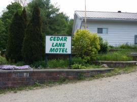 Cedar Lane Motel, Bracebridge