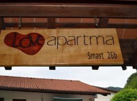Apartment Love Smast, Kobarid