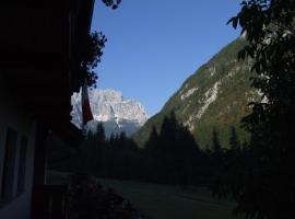 Agriturismo Prati Oitzinger, Valbruna