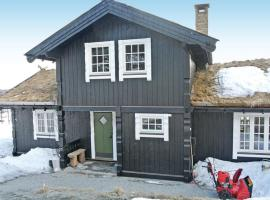 Four-Bedroom Holiday home with a Fireplace in Ål, Seim