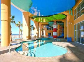 Splash Beach Resort by Panhandle Getaways, Gulf Resort Beach