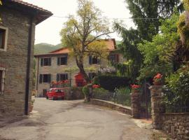 Graziosa Villetta In Pietra In Antico Paesino Toscano, San Godenzo