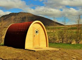 Fossatun Camping Pods & Cottages - Sleeping Bag Accommodation, Fossatún