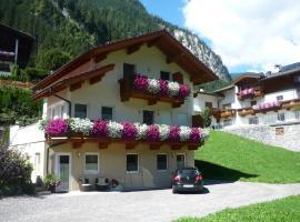Appartement Christian, Mayrhofen