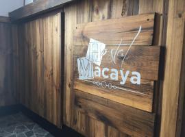 Hostal Macaya, Τόσα ντε Μαρ