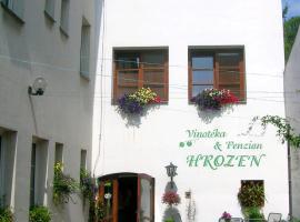 Penzion a Vinoteka Hrozen